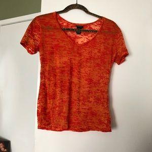 Rue 21  nwot bright  orange shirt  never worn